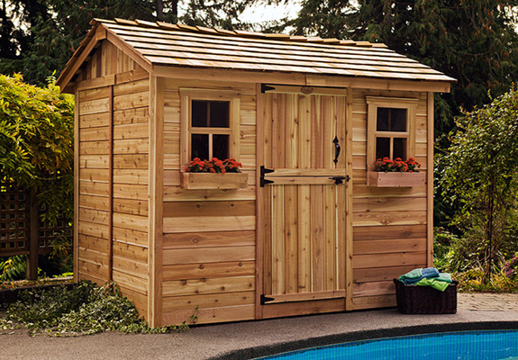 Outdoor Living 9'x6' Cabana Garden Shed